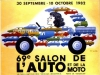 Salon automobile Paris 1982