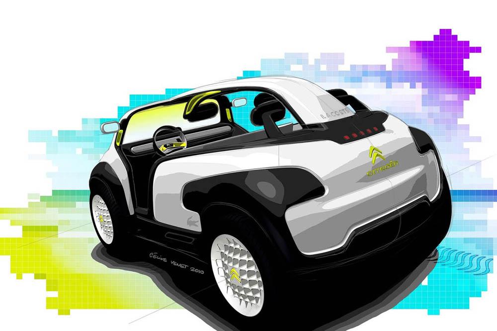 retour sur le concept car lacoste de citro n en 2010. Black Bedroom Furniture Sets. Home Design Ideas
