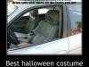 Costume Halloween de siège auto