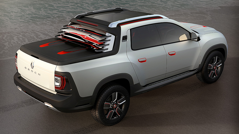 dacia duster oroch pr sentation et photos du nouveau pick up dacia. Black Bedroom Furniture Sets. Home Design Ideas
