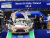 WRC - FINLAND RALLY 2014  - PHOTO : CITROEN RACING/AUSTRAL   MEEKE Kris (GBR), Citroen Total Abu Dhabi WRT (FRA), Citroen DS3, podium