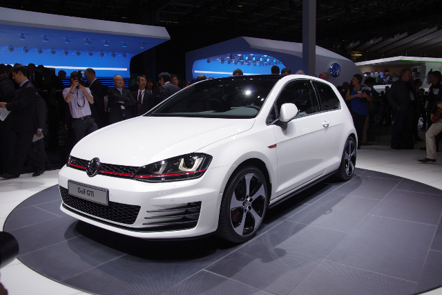 mondial de l automobile 2012 golf 7 gti concept blog auto. Black Bedroom Furniture Sets. Home Design Ideas