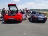 Ferrari F430 et Porsche Boxster