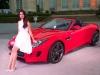 Jaguar F-Type 2012 et Lana Del Rey