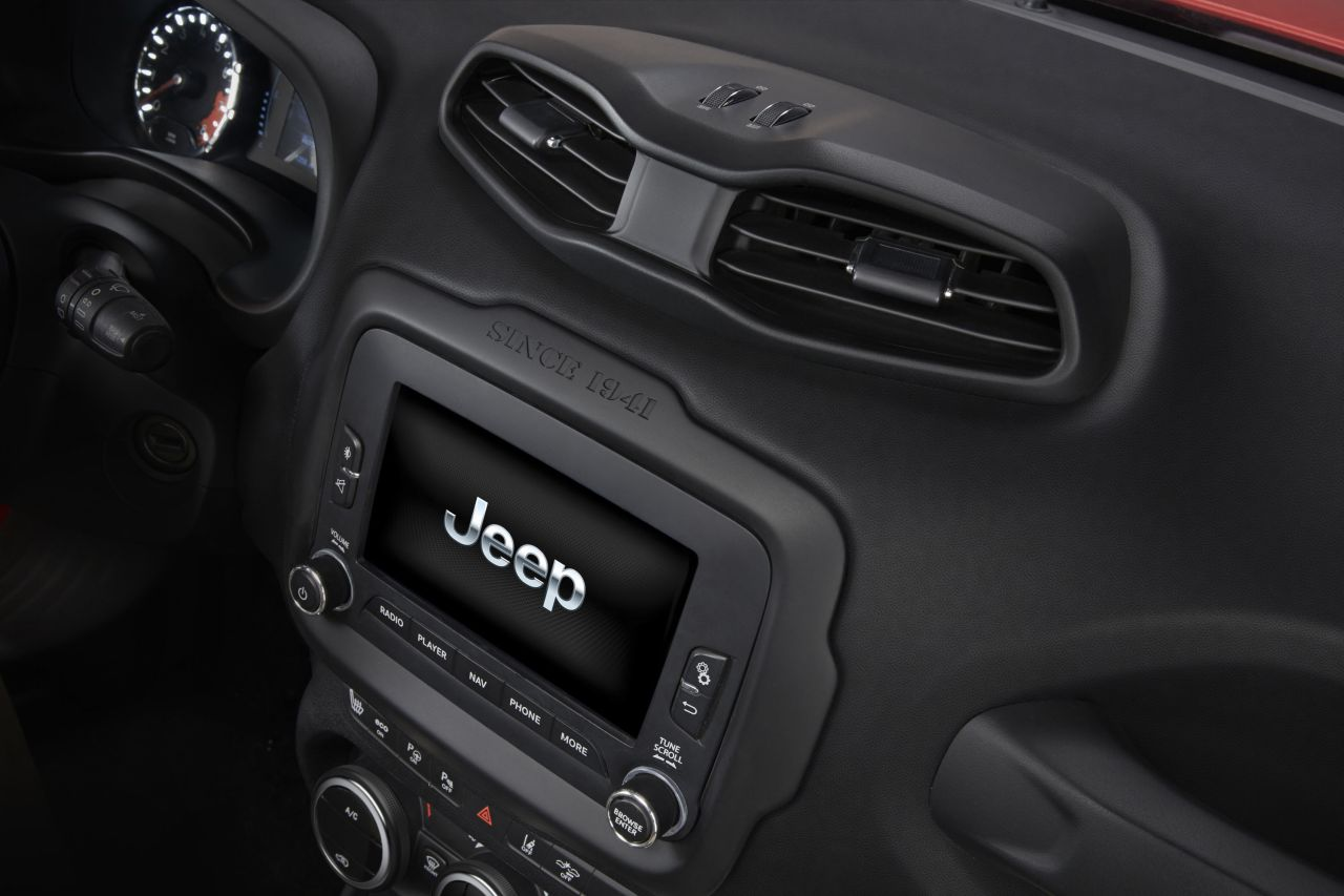 nouvelle jeep renegade d voil e gen ve 2014 toutes les photos. Black Bedroom Furniture Sets. Home Design Ideas