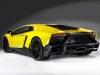 Arrière Lamborghini Aventador LP720-4 Anniversario Edition 2013