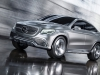 mercedes concept car coupe suv