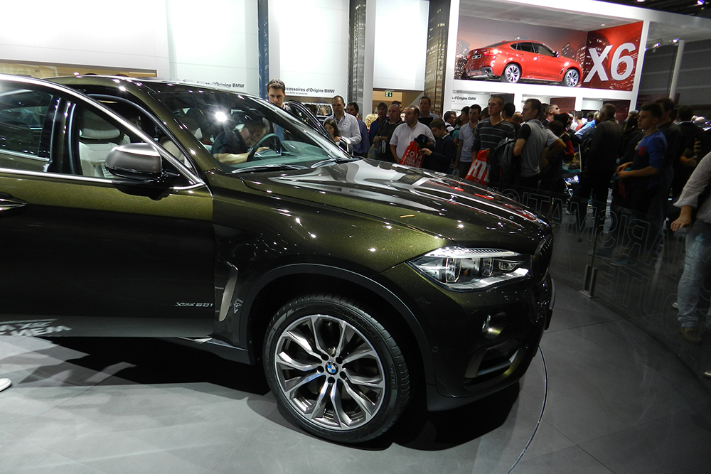 BMW X6 Mondial auto Paris 2014 (210)