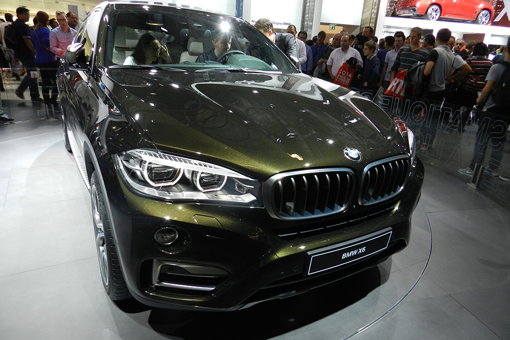 BMW X6 Mondial auto Paris 2014 (211)