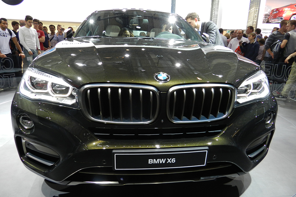 BMW X6 Mondial auto Paris 2014 (212)