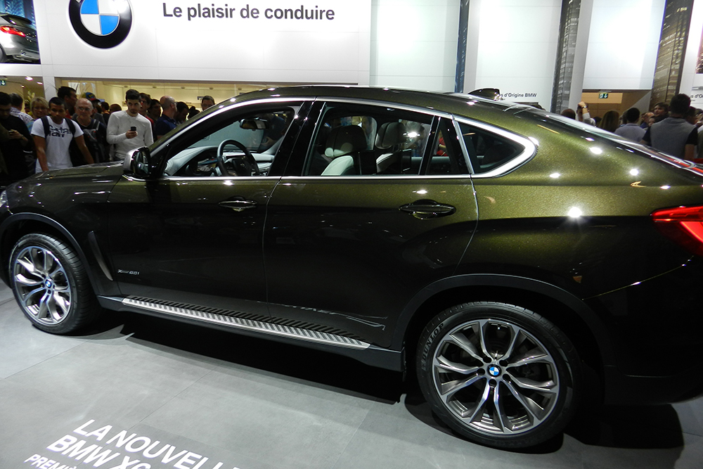 BMW X6 Mondial auto Paris 2014 (215)