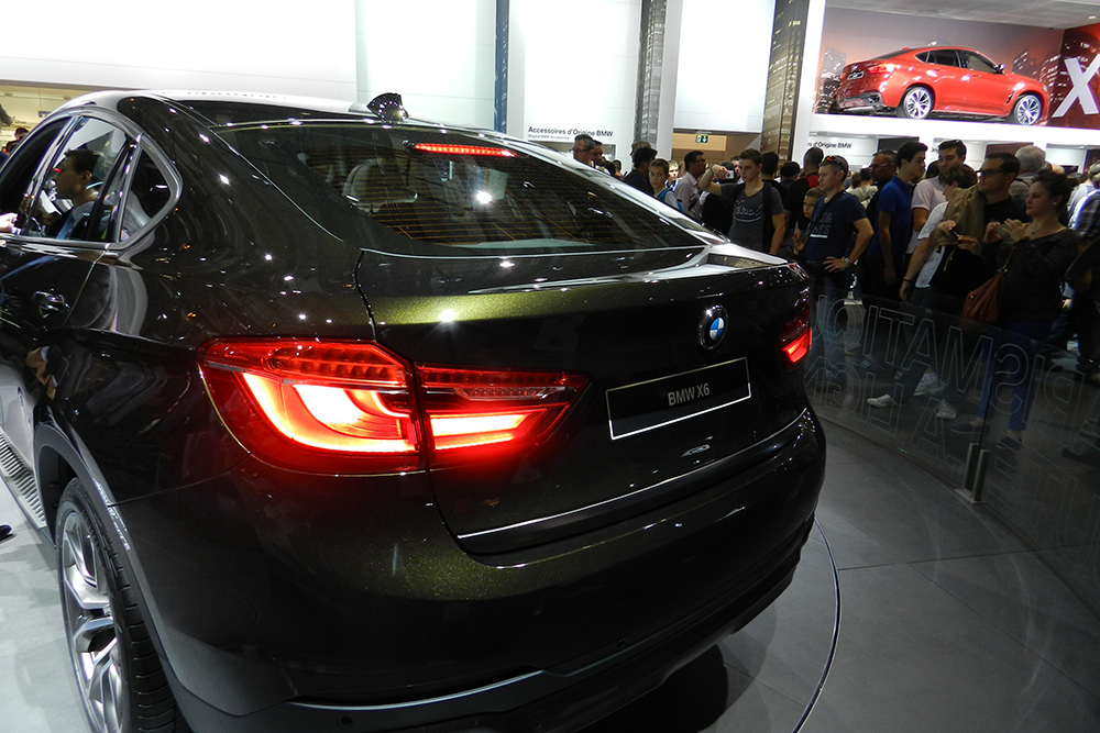 BMW X6 Mondial auto Paris 2014 (216)