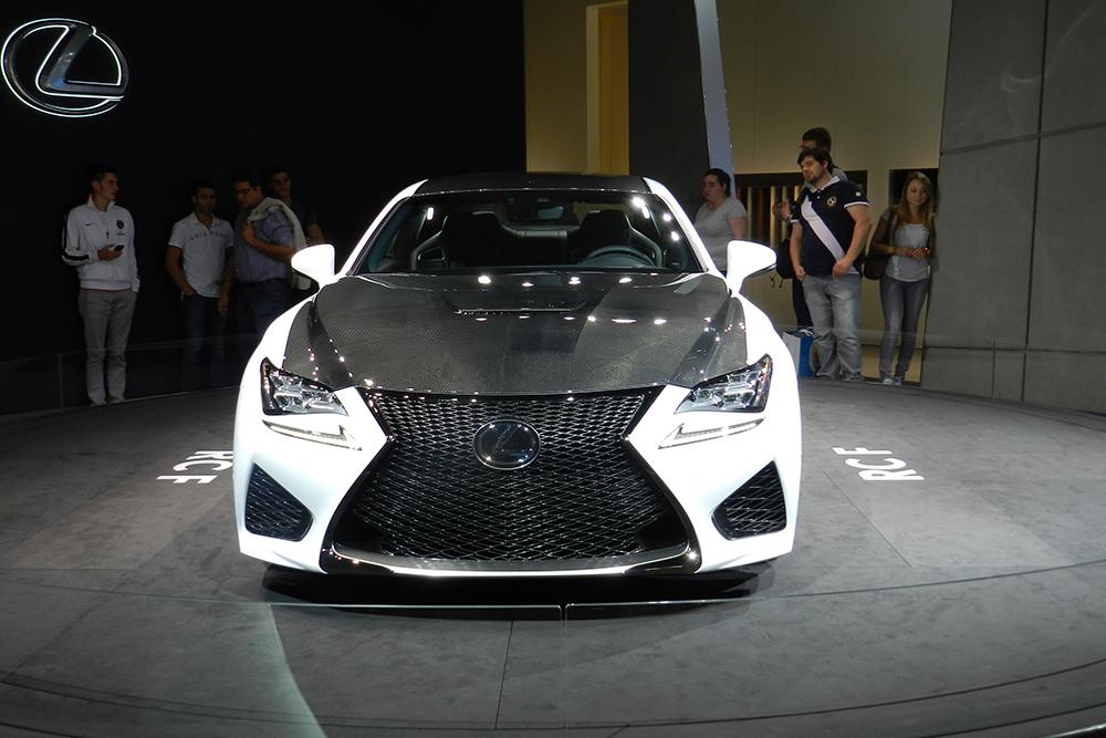 Lexus RC f Mondial auto Paris 2014 (172)