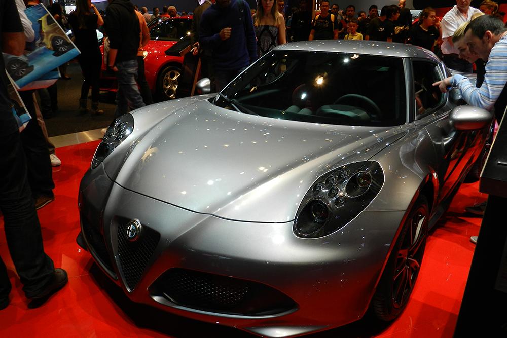 alfa romeo 4C Mondial auto Paris 2014 (131)