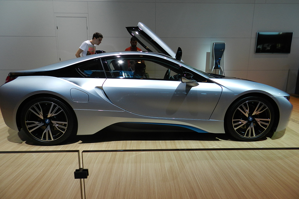 bmw i8 Mondial auto Paris 2014 (210)