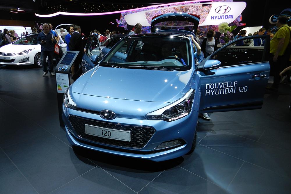 nouvelle hyundai i20 Mondial auto Paris 2014 (149)
