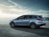 vue profil Ford focus wagon break 2014