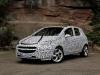 Phase de test nouvelle Opel Corsa