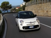 Photos de la nouvelle Fiat 500 L de face sur route
