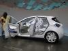 Intérieur Renault Zoé électrique 2012