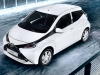 nouvelle Toyota Aygo blanche