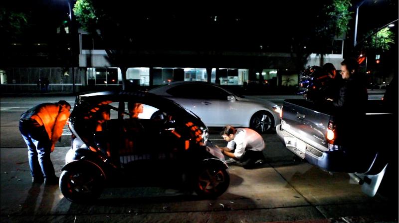 Renault Twizy dans le clip de Ludacris