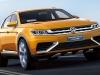 Volkswagen CrossBlue Coupe concept Salon de Shanghai