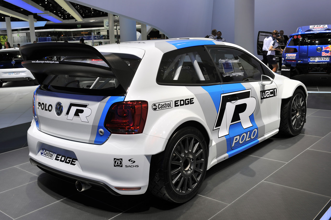 wrc volkswagen polo r au salon de gen ve 2013 blog auto. Black Bedroom Furniture Sets. Home Design Ideas