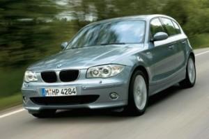 la nouvelle BMW série 1 version gris
