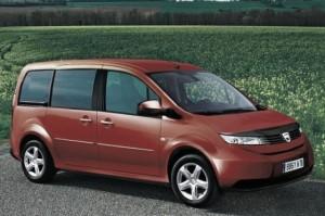 photo de la monospace Dacia