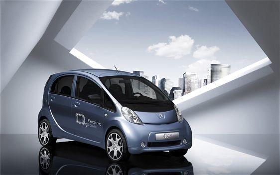 Peugeot iOn électrique