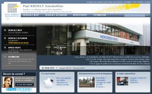 Photo du site du concessionnaire auto Kroely