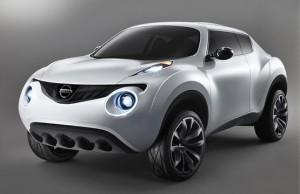 Photo du nouveau Nissan Juke gris