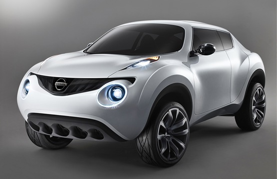Photo du nouveau Nissan Juke gris