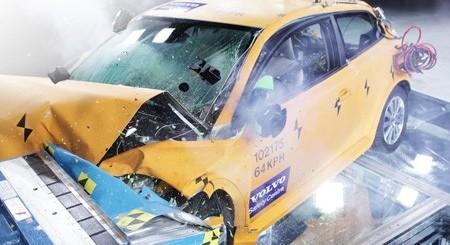 Voiture écologique Volvo C30 Electric au salon de Détroit