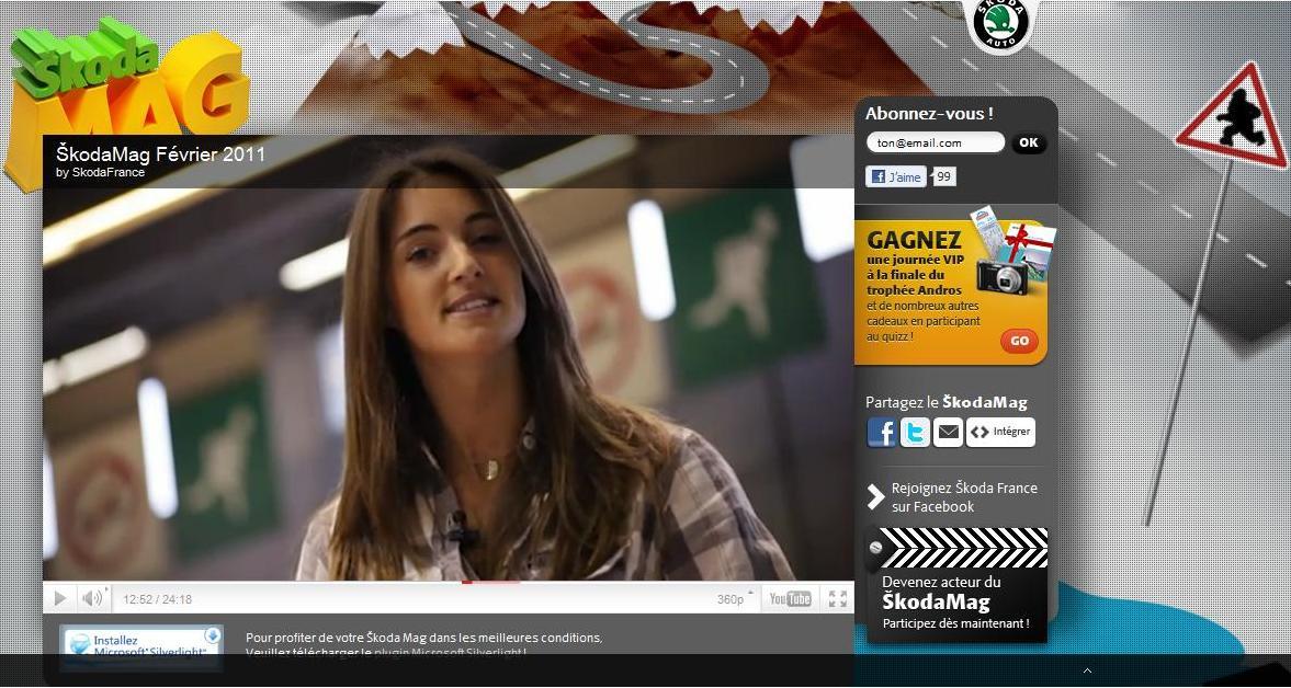 Blog auto - Magazine video skoda margot laffite