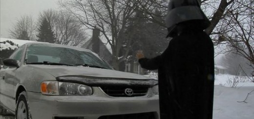 Pub Mini Dark Vador Toyota (parodie)