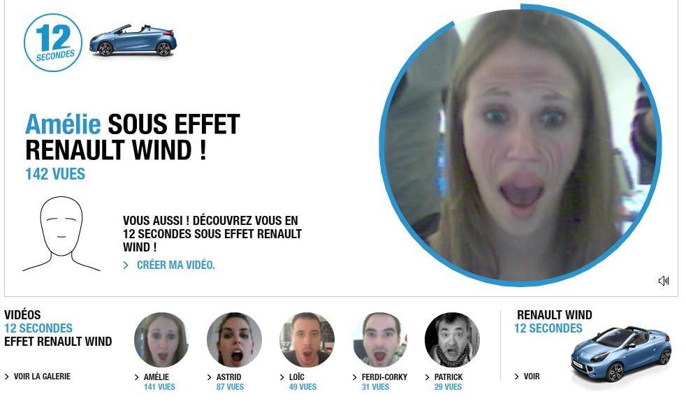 site renault wind vent vidéo