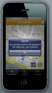 application iphone stop pervenche pv contraventions