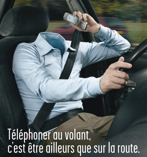 telephone au volant illustration infractions europe