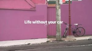 image publicité assurance vie sans voiture