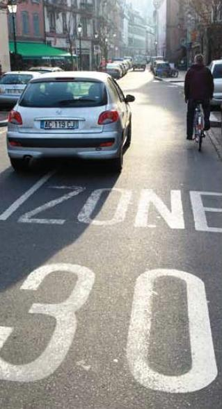 limite vitesse 30 km/h centre ville strasbourg projet debat