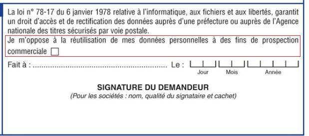certificat immatriculation vehicule donnees personnelles blog auto s lection le condens d. Black Bedroom Furniture Sets. Home Design Ideas