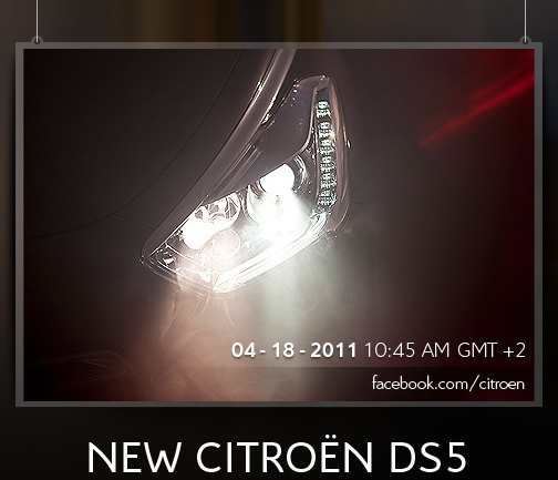 photo phare sortie citroen ds5