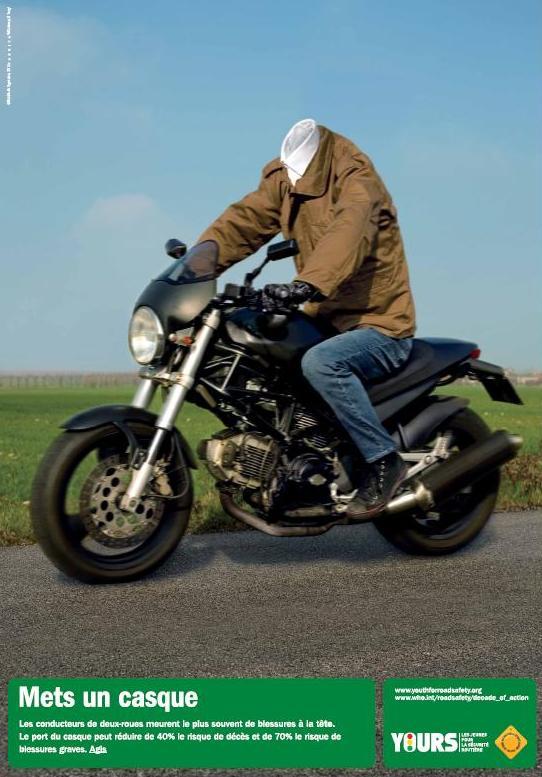 casque moto rouler sans casque