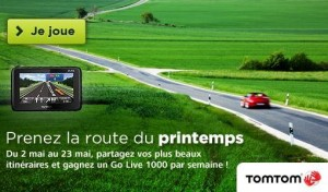 jeu tomtom gps gagner itineraire france