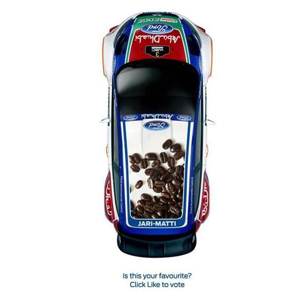 Ford Fiesta RS WRC rallye de Finlande