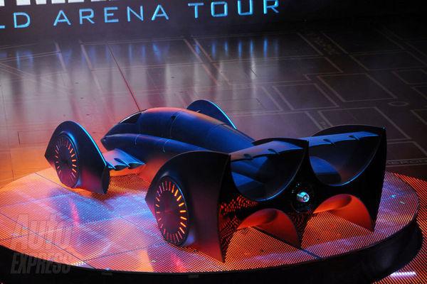 nouvelle Batmobile