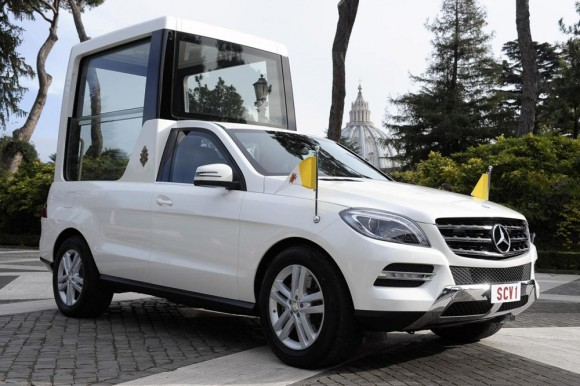 papamobile Mercedes ML hybride