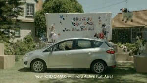 nouvelle pub ford c max du chien et de la musique blog. Black Bedroom Furniture Sets. Home Design Ideas